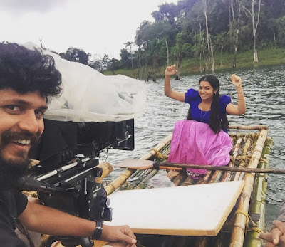 Actress malayalam Parvathy in location