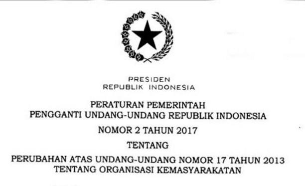 HTI: Jokowi yang Buat Perppu, Ehh…Dia Juga yang Langsung Melanggar