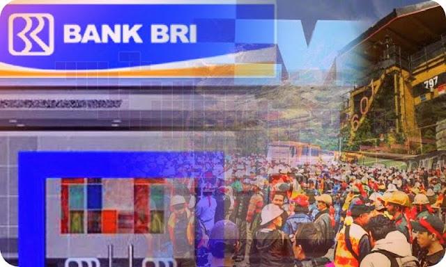 Bank Rakyat Indonesia Rugi Rp1 Miliar Akibat Krisis PTFI
