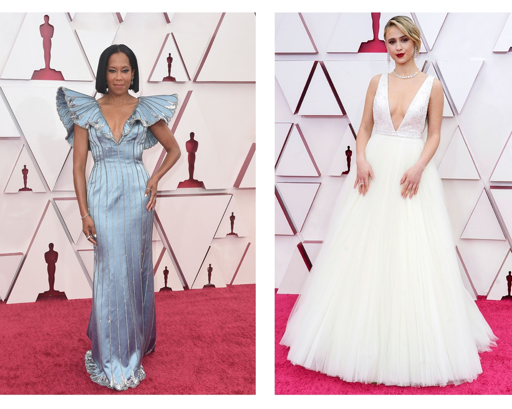 Oscars 2021, ¡una red carpet impecable!