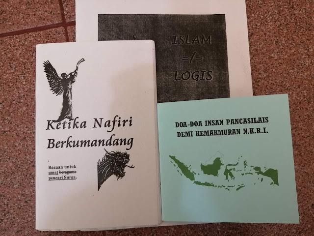 Ada Kelompok OTK yang Ingin Bikin Gaduh Aceh, Sebar Buku Pendangkalan Aqidah Islam