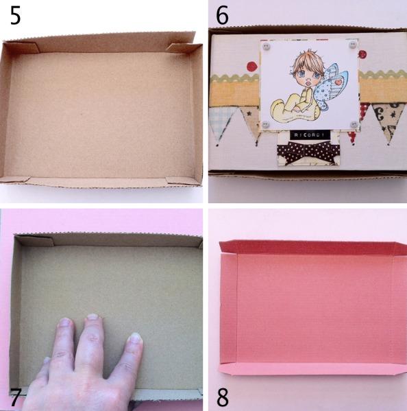 come costruire una scatola regalo