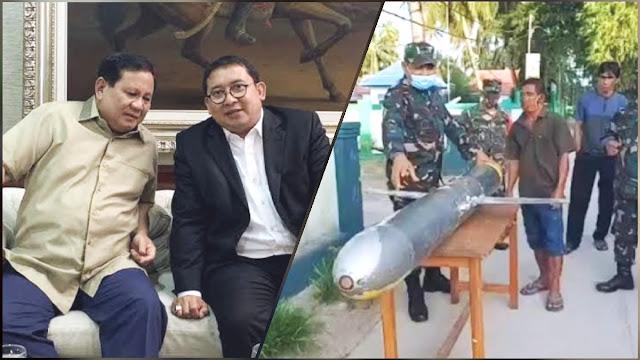 Fadli Zon Tanggapi Penemuan Drone Laut Diduga Milik China: Penghinaan Kedaulatan RI
