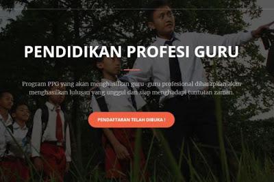 Pendaftaran Online Program PPG Bersubsidi Dibuka