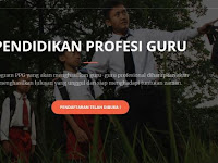 Pendaftaran Program Pendidikan Profesi Guru (PPG) Online Bersubsidi Dibuka