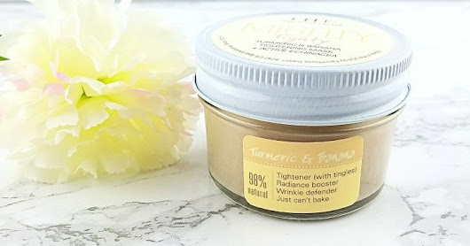 Farmhouse Fresh Mighty Tighty Banana and Turmeric Tightening Mask Serves Up Firmer and More Radiant Skin