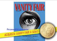 VanityFair : coupon omaggio per acquistare la tua copia a euro 0,50