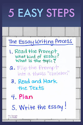 Use these 5 easy steps to teach your middle school students how to write text-based essays!