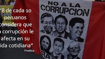 Corrupción: Cada vez más a ser el principal problema del Perú
