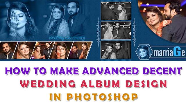 How To Make Wedding Album Design