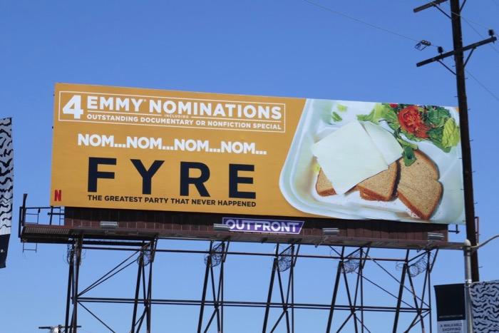 Fyre documentary 4 Emmy nominations billboard