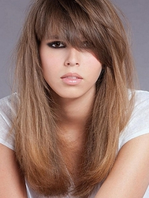 different bangs styles for hair medium haircuts with bangs 7025