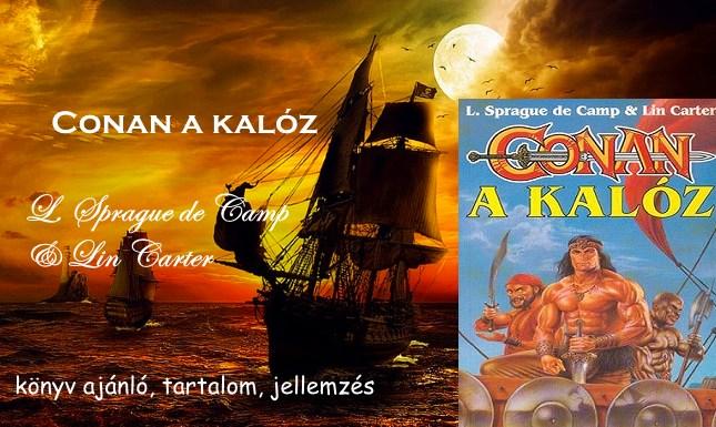 Conan a kalóz könyv ajánló, tartalom, jellemzés