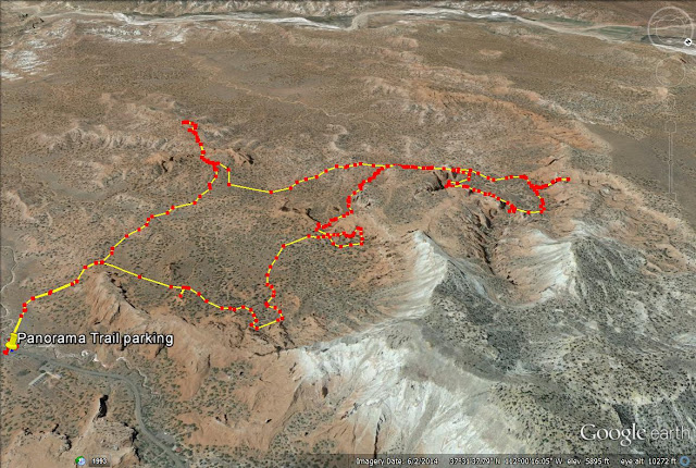 Kodachrome Basin State Park, Panorama Trail map