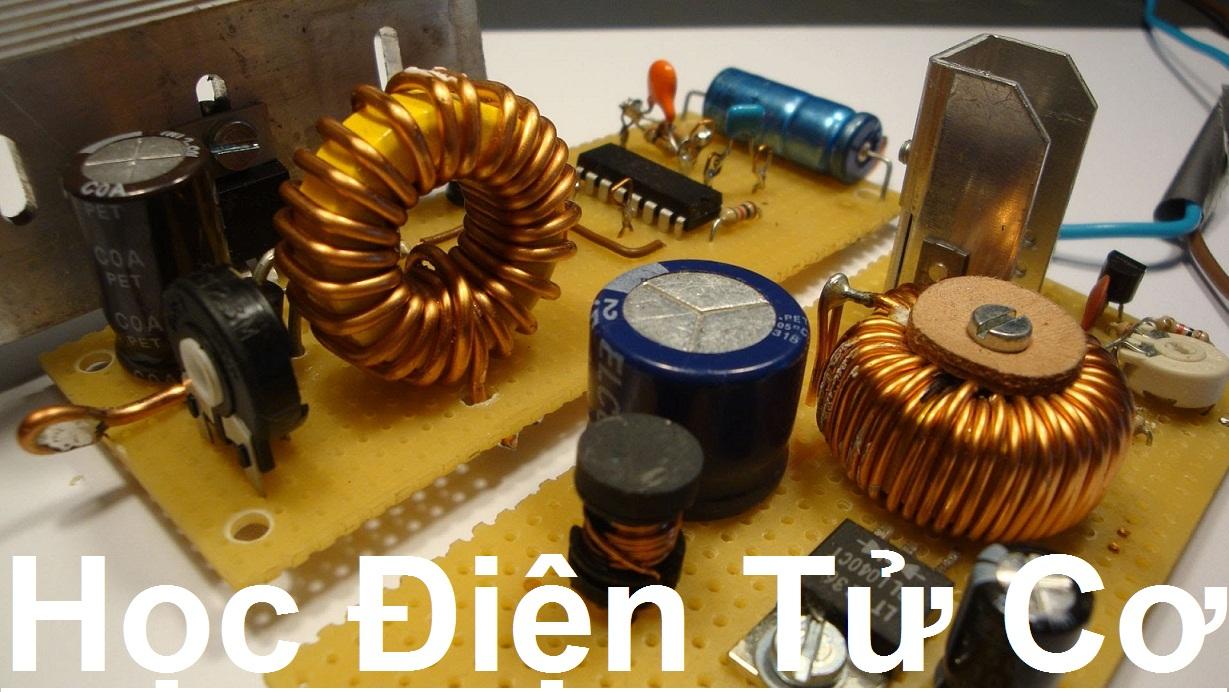 Khóa học điện tử cơ Full từ cơ bản đến nâng cao