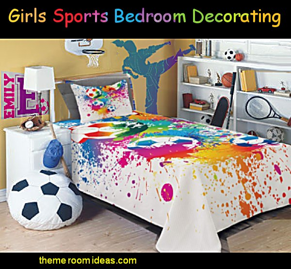 girls sports bedroom decorating girls sports bedroom decor girls sports room ideas