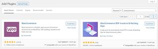 Instalando el plugin WooCommerce.