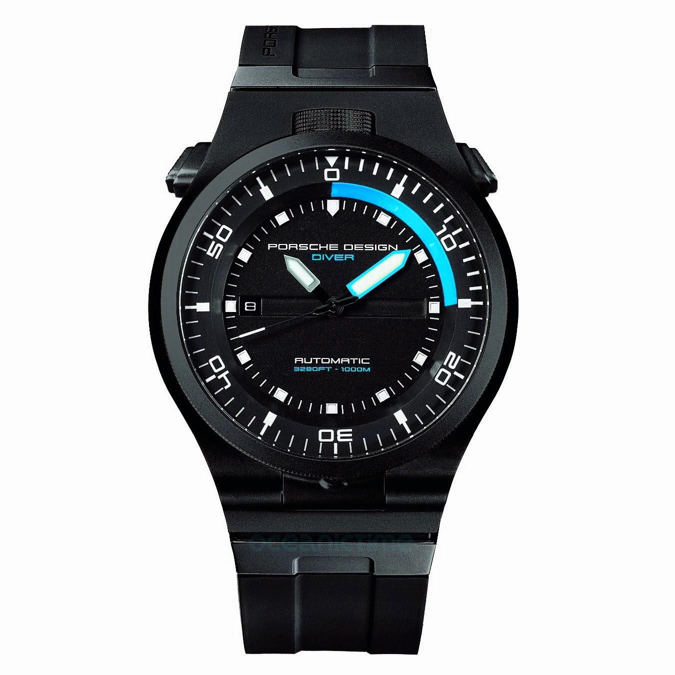 swiss design watches the p 6780 diver watch from porsche. Black Bedroom Furniture Sets. Home Design Ideas