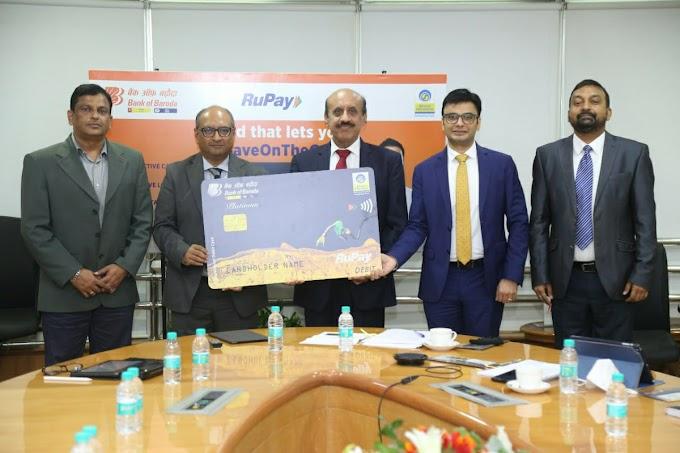 भारत पेट्रोलियम व बैंक ऑफ़ बड़ौदा ने लांच किया RuPay NCMC को-ब्रांडेड डेबिट कार्ड