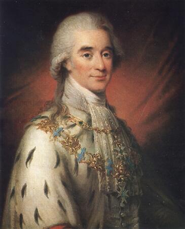 Hans Axel von Fersen by Noël Hallé
