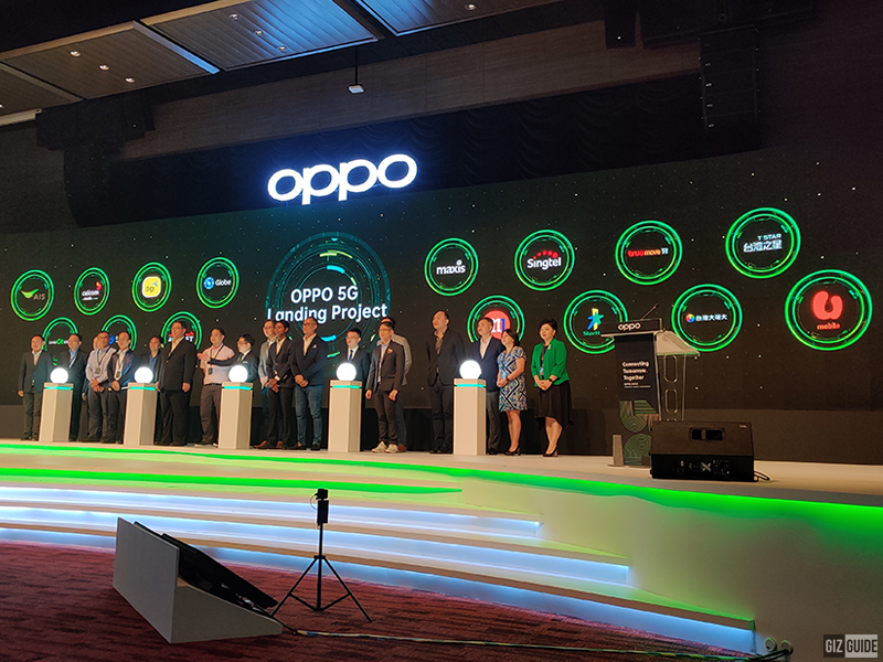 OPPO APAC landing project announced, partners with Globe to accelerate 5G growth in PH
