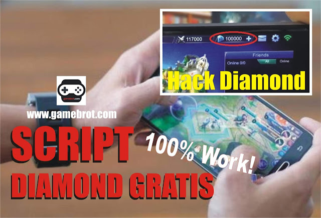 Script Diamond Gratis Mobile Legends 10.000 Diamond Patch Lylia Terbaru 2019 100% Work!