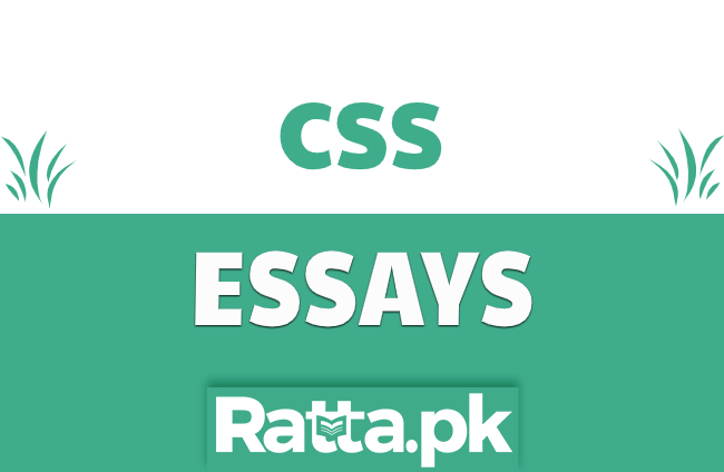 English Essays for CSS