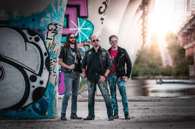 """Italian Music Scene: Saints Trade Release New Album """"Time to be Heroes"""", Born in Bologna Italy"""