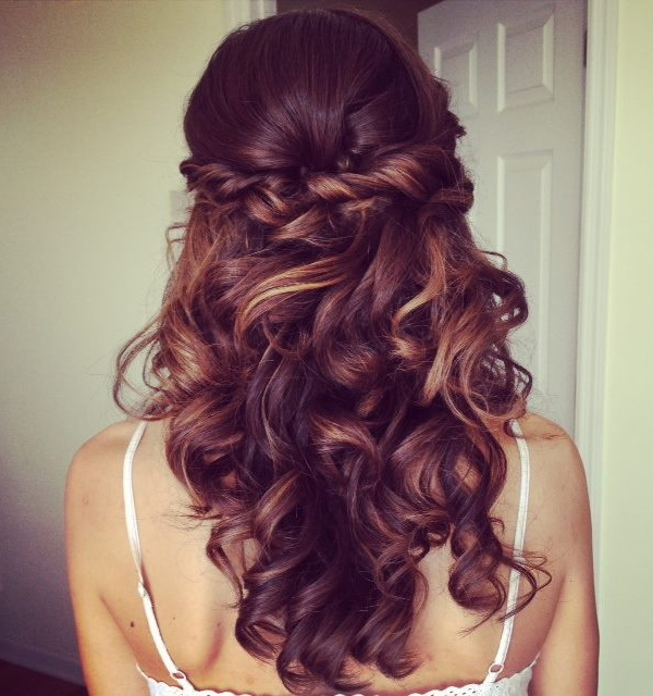 48 Perfect Half Up Half Down Wedding Hairstyles