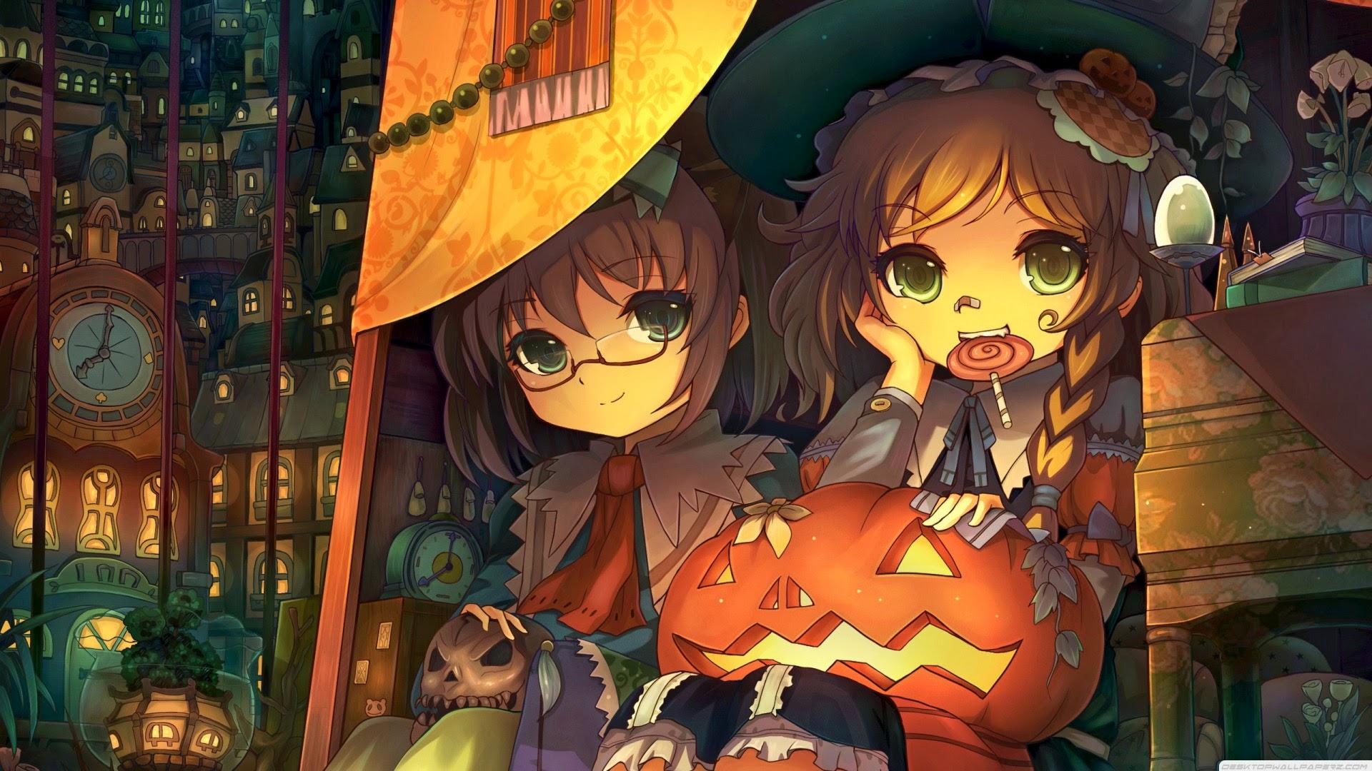 anime halloween girl - photo #35