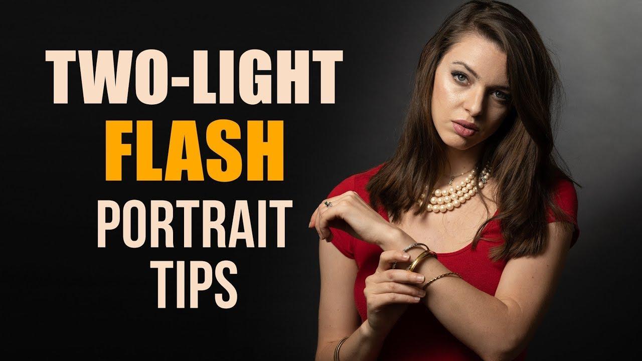 TWO-LIGHT Flash Portrait Tips