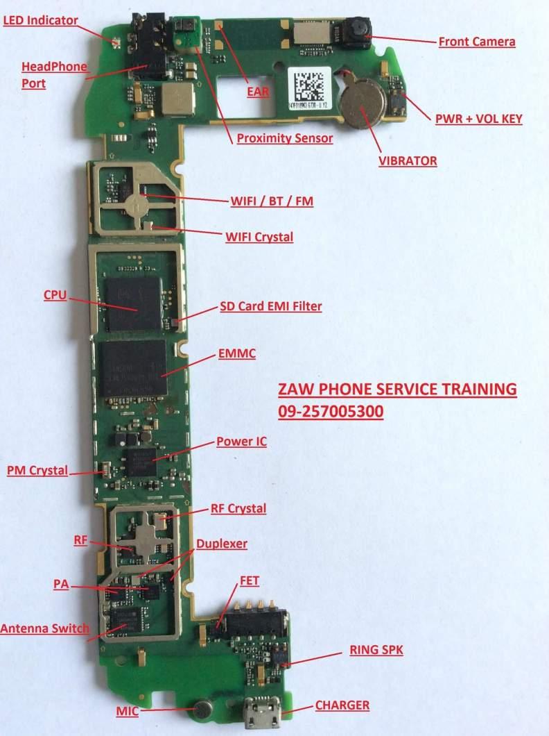 Huawei G730 U00 Diagram