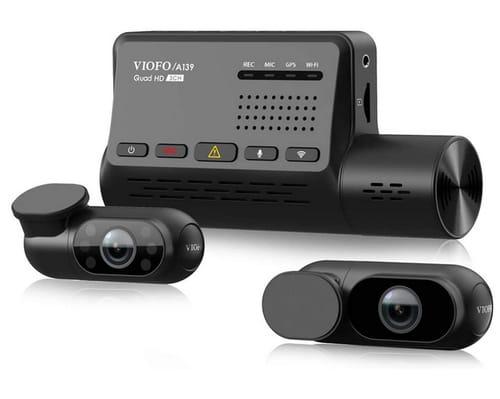 VIOFO A139 WiFi GPS 3 Channel Car Dash Camera