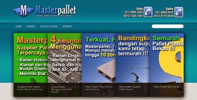 Jual Pallet Plastik Baru Murah Jakarta