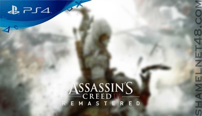 تحميل لعبة Assassins Creed 3 Remastered لجهاز ps4