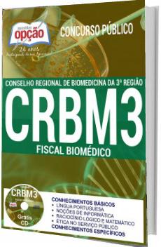 Apostila CRBM3 2017 - Fiscal Biomédico