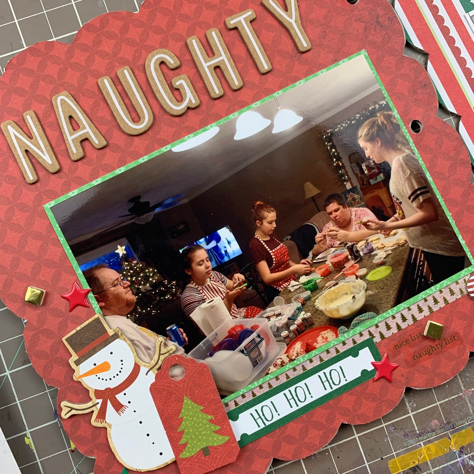 Naughty or Nice - 8x8 Layout Process! // Episode N - Summer of