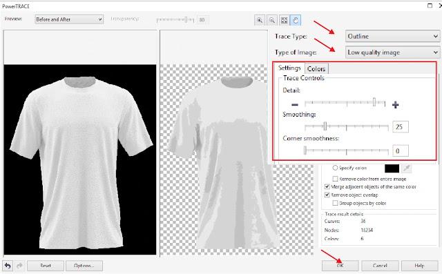 Cara Mudah Membuat Desain Kaos CorelDraw