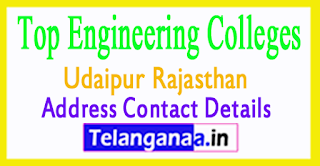 Top Engineering Colleges in Udaipur Rajasthan