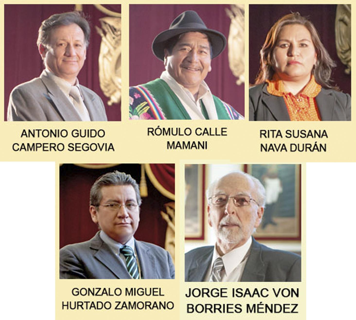Cinco de los nueve magistrados del TSJ podrían responder en juicio ante el Senado