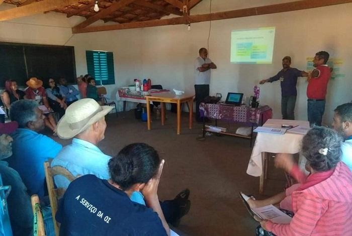 GOVERNO DE GUAJERU EM PARCERIA COM O SEBRAE REALIZA OFICINA PARA AGRICULTORES