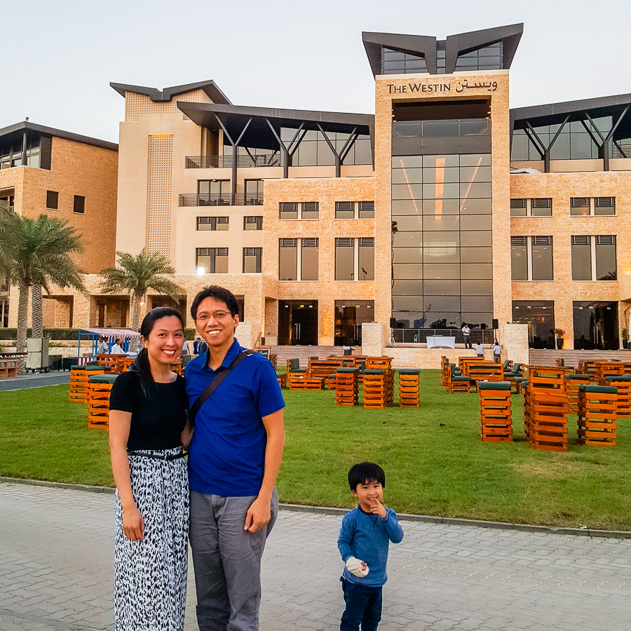 Fourth Anniversary at Westin Abu Dhabi