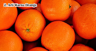 Arti Warna Orange atau Jingga Dalam Pemilihan Souvenir
