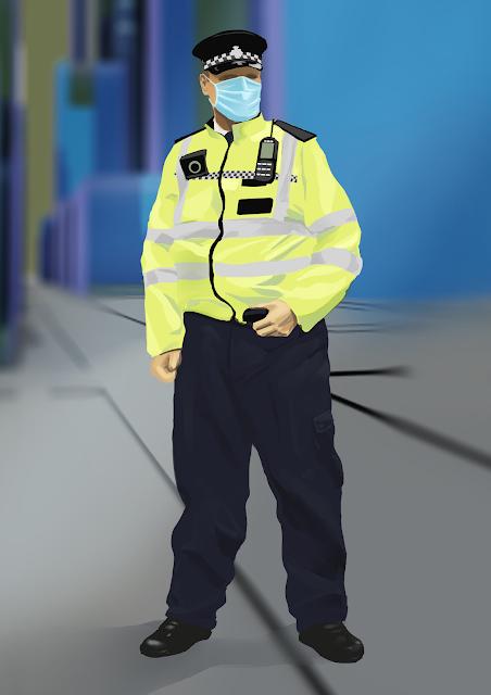 Cop Sketch