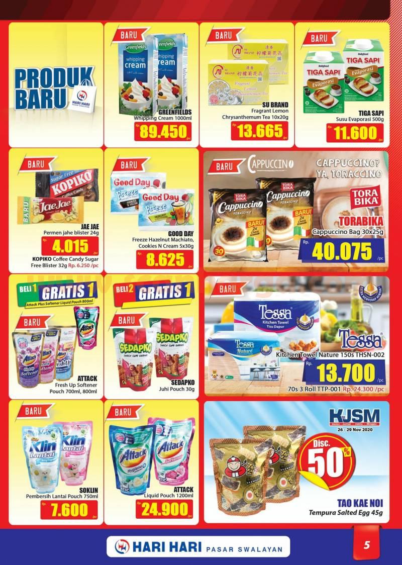 Katalog Promo Hari Hari Pasar Swalayan 26 November - 9 Desember 2020 5