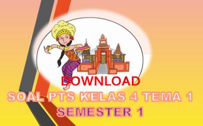 Soal PTS Kelas 4 Tema 1 K13 SD/MI dan Kisi-kisi