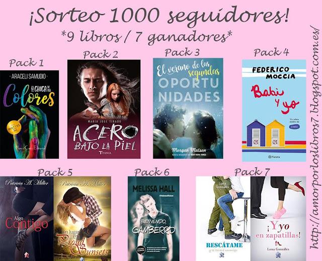 SORTEO: Amor por los libros