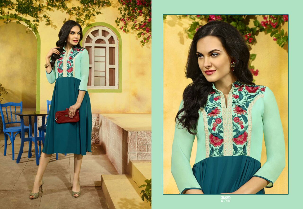 Crystal – Latest New Stylish Mind Blowing Designer Kurti