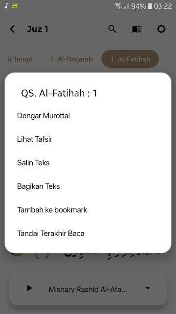 Al-Qur'an Android Studio Lengkap Tajwid
