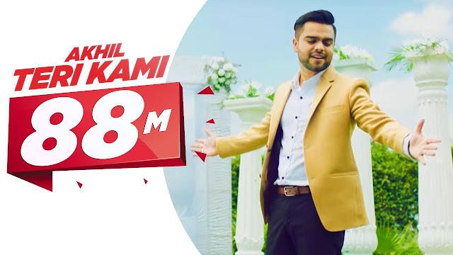 2020# teri kami akhil punjabi song lyrics hindi and english